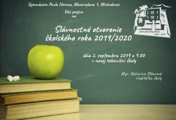 pozvanka - novy sk. rok